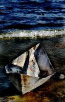 Just a paper boat to dream by Kemao