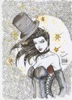 Zatanna by anthony DUGENEST by neodrago