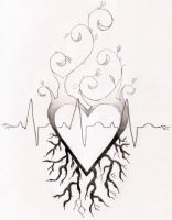 Heart Tattoo Design by Amandasaurus