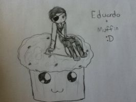 Eduardo and Muffin by IamaQuebecian123