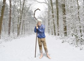 Jack Frost leaning by chakotay02
