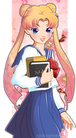 Contest: Usagi Tsukino by cardboard-box-c