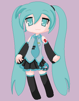 Lucky Miku by MusicAndPs3Lover