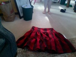 Kurogane Skirt progress by shishiza-kun