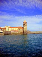 The fort with a clock by YannosGATO