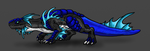 Blue Tailed Racer Drake by Scatha-the-Worm