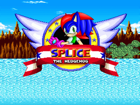 Splice The Hedgehog Title Screen (Current) by Frost1992