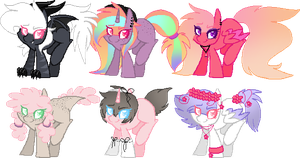 Ari's Adopts | Pony Adopts 24 - Closed by Sinful-Moon-Adopts