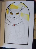 St. Barnabus the Beaky WIP by JanuaryVictim