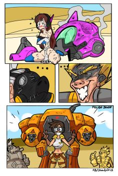 When you are in trouble - Overwatch by FBende