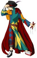 Mr. Marrionette the Harlequin by kyris