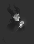 Maleficent WIP by ADQuatt