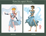 Sedna Before and After Meme by Jikuro
