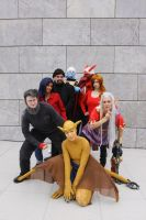 2012: Gargoyles Group by shari81