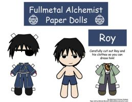 Roy Paper Doll by Malindachan