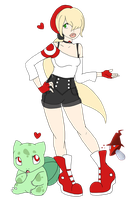 Pokemon Trainer Heather! by NiveousLamia