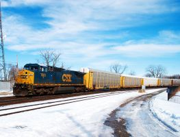 CSX on CN 451 by wolvesone
