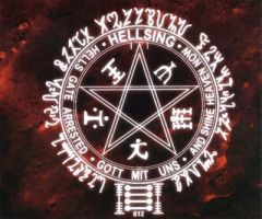 Hellsing Insignia Desktop by ChosenDeath