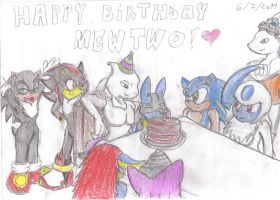 Happy Birthday Mewtwo by JCMX