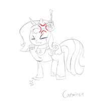 Waiting is a pain (request sketch) by Captain64