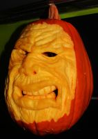 Pumpkin Sculpture by VanZanto