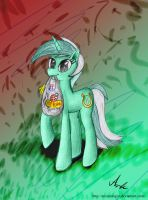 Lyra - now in color! by Arcanologist