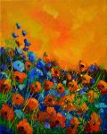 Poppies 45516032 by pledent