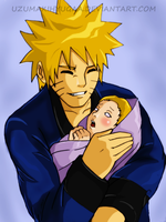 Naruto Father day by Okky-RightBrain