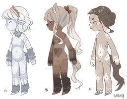 Anthro Adoptables - CLOSED by MayonnaiseBottle
