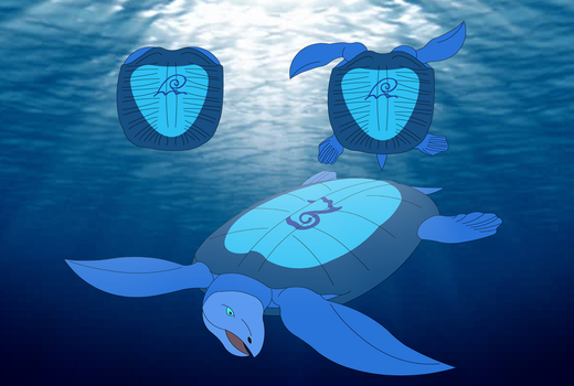 Archelon the Water Weapon by Artapon