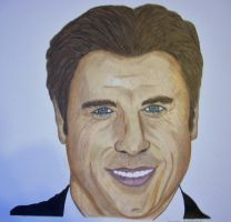 John Travolta Colour by donna-j