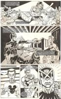 Judge Dredd - Cycle of Violence page 1 by darkpassenger1888