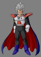 Baby King Vegeta 1st form by RobertoVile