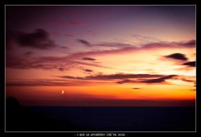 I have an appointment with the moon by Rayon2lune