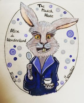 The march hare by Mooniilla