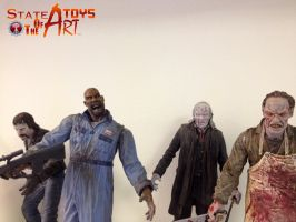 OMG! Zombies! by StateOfTheArt-toys