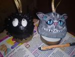 Making Soot spirit and the cheshire cat 4 by TeapotMysteries