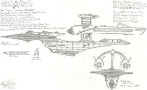 USS Farrington: 2nd Pass WIP 2 by galaxy1701d