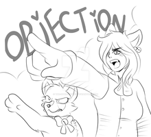 Commish: -OBJECTION!!!- by The-Star-Hunter