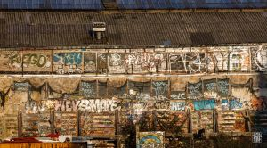 Factory wall by sylvaincollet