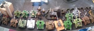 imperial guard astra militarum big game deployment by skincoffin