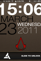 Typophone 3GS Assassin's Creed by surr3a1