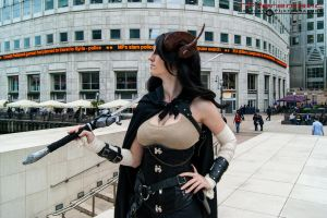 Steampunk Satyr - Canary Wharf 4 by TPJerematic