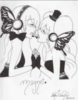 Magnet uncolored by Fujioka-Moe