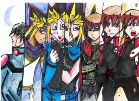 YGO 10th Anniversary DMs by Specter1997