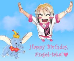NOIZ: Angel-taka's Birthday by Labbess