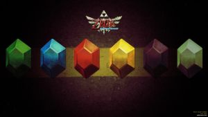 Skyward Sword Wallpaper6 by CaroQuest