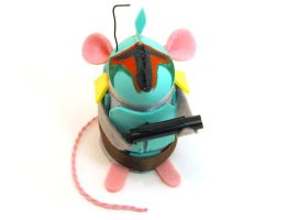 Boba Fett Mouse by The-House-of-Mouse