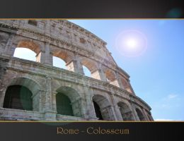 Rome Anthology - Colosseum by Geanfrancois