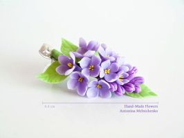 Barrette - Lilac by CraftFlowers